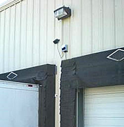 Safety Sentry at loading dock