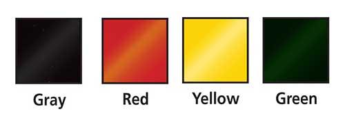 weldview pvc color chart