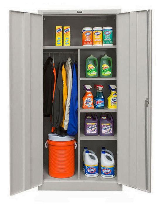 combination cabinet interior