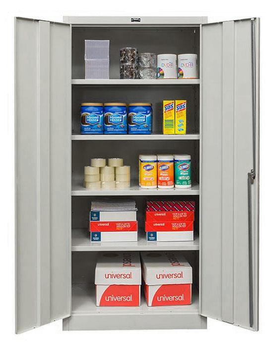 storage cabinet interior