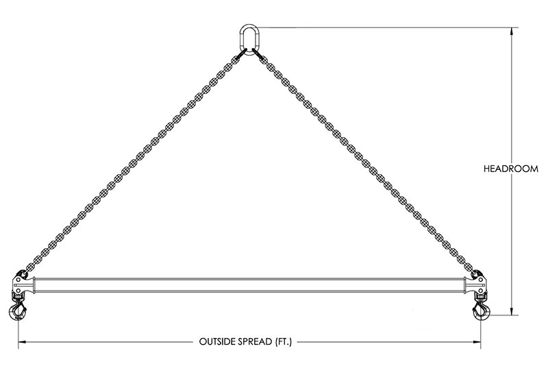 spreader beam drawing