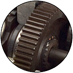Heat Treated Gear Inset