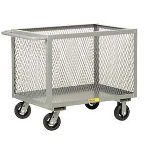 Steel Side Box Truck, 4-Sided Mesh