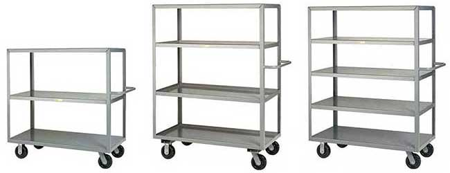 steel shelf trucks