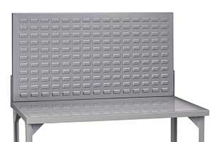 louvered panel workbench feature