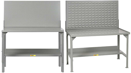 steel workbenches with extra features