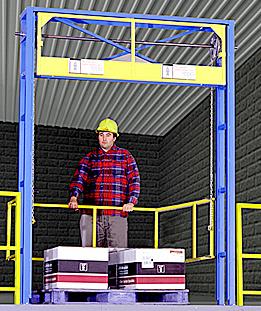 Mezzanine Safety Gate Ladder Gate Platform Loading