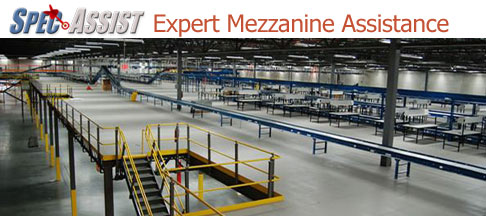 Mezzanine Specification Help