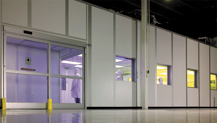 modular isolation room for infectious disease containment