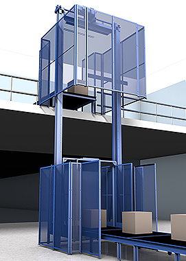 Pflow DB Series Package Handling Lift