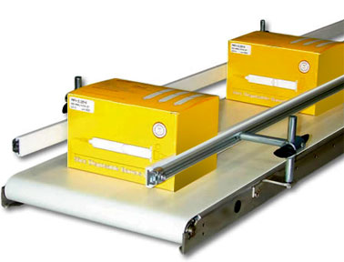 Industrial series low profile conveyor with package
