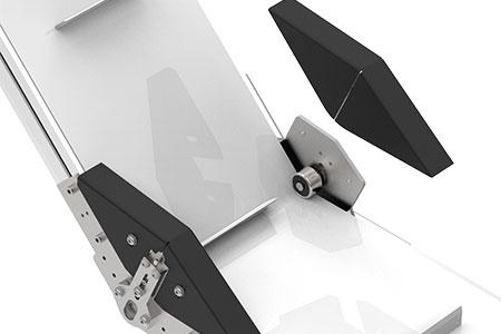 Z-track angle idler assembly