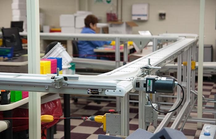Flextrac conveyor application
