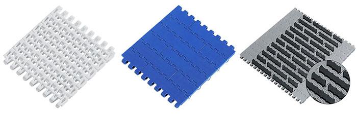 Flextrac plastic chain belting options