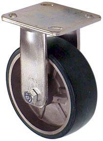 RWM Casters UAR-0515-08 5 Diameter X 1-1//2 Width Urethane on Aluminum Wheel with Straight Roller Bearing 720 lbs Capacity