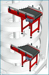 details - multiple entry conveyor