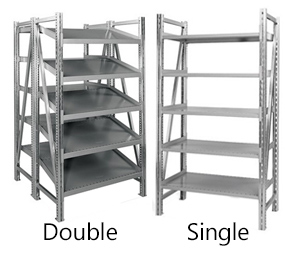 Steel Pick Shelving