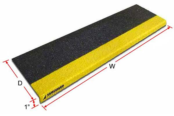 step cover with measurements