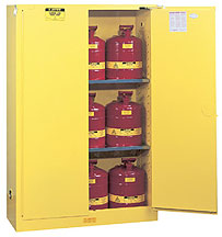 Safety Cabinet with Self Closing Door