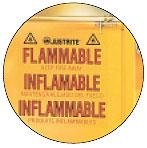 Trilingual Warning Label