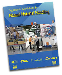 what percentage of workplace injuries are caused by manual handling