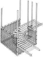 Box-Shaped 90-degree Turn