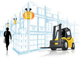 Warehouse Traffic Amp Forklift Detection Sensors Collision