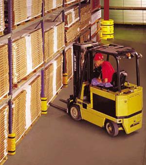 pallet rack loading