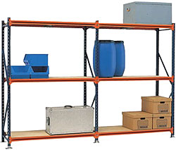 Hand loaded bulk racks