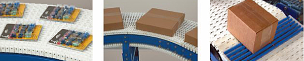 Applications for plastic chain conveyors