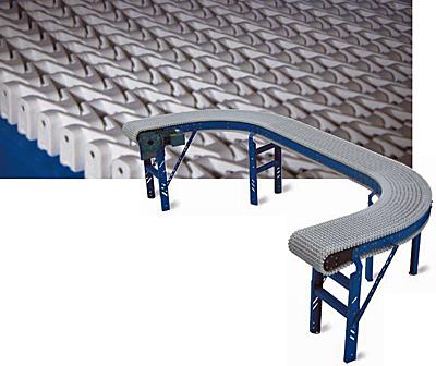 CU-PLN Plastic Dual Curve Conveyor