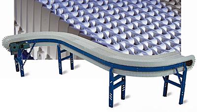 CV-MSG Plastic Chain Curve Conveyor
