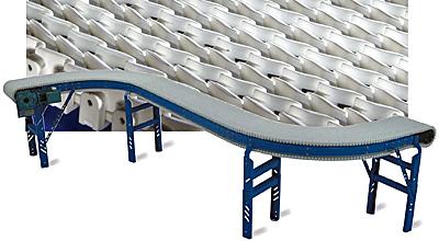 HO-RAS Dual S curve conveyor