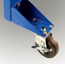 Caster support for Span Tech Conveyor