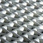 Plastic woven conveyor chain