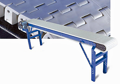 Plastic Chain Conveyor, Straight Sections | Sanitary Food Conveying