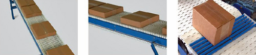 conveyor applications - accumulation, transport, transfers