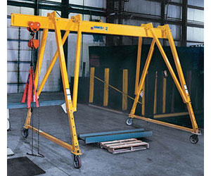 3-way Adjustable Steel Gantry Cranes