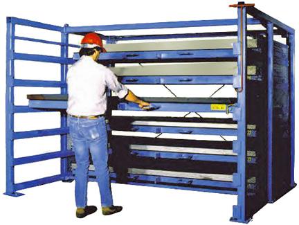 Pictures of Sheet Metal Storage Racks & Storage Racks: Sheet Metal Storage Racks