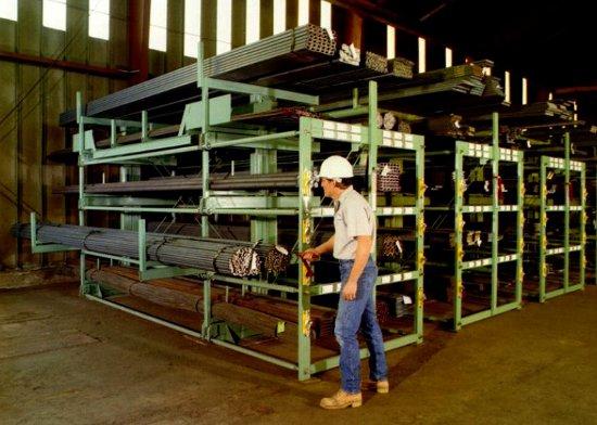 Four Options For Bar Stock Tubing amp Pipe Storage Racks