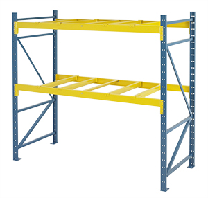 Structural Pallet Rack - Steel King, Complete Racks