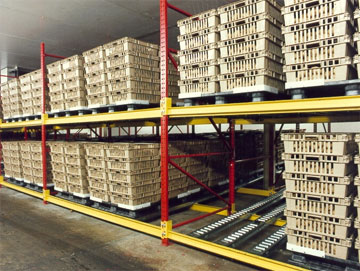 Pallet Flow Rack Systems Cisco Eagle
