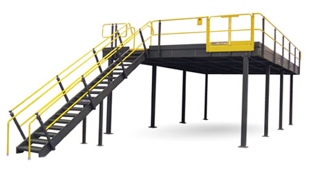 Mezzanines & Industrial Storage Platforms | Cisco-Eagle