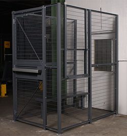 Dock Door Security Cages