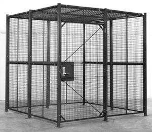 prisoner holding cells - detention cage