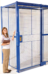 warehouse security cage