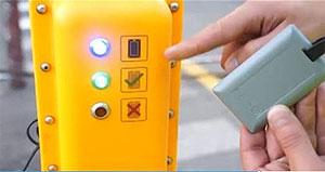 ZoneSafe tag battery check