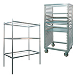 Aluminum Cannabis Drying Racks