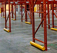 Round Pipe Pallet Rack Guards