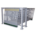 Vertical Roll-Out Sheet Metal Racks